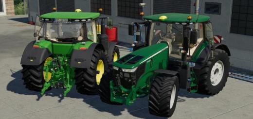 Photo of FS19 – John Deere 7R Traktör V1