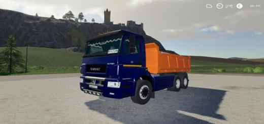 Photo of FS19 – Kamaz 6520 Kamyon Modu V1.0