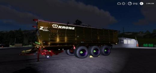Photo of FS19 – Krone Zx 560 Gd Nerd Mp V1.0