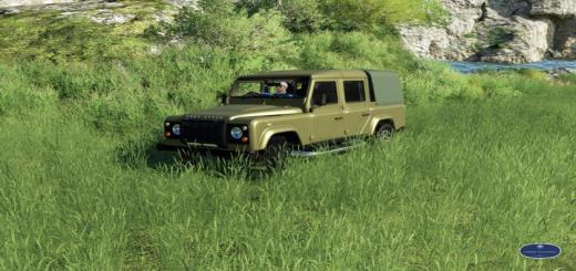 Photo of FS19 – Land Rover Defender 110 V1.0