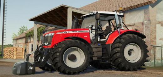 Photo of FS19 – Massey Ferguson 7700S Traktör V1.1