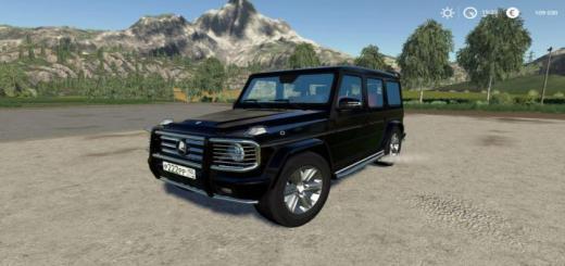 Photo of FS19 – Mercedes-Benz G55 Amg V1.0