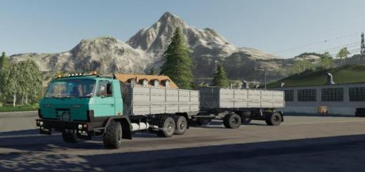 Photo of FS19 – Tatra 815 Modra Kamyon Modu V1.2