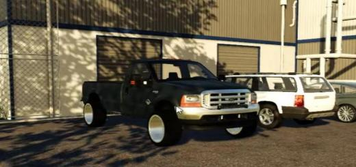 Photo of FS19 – 1999 Ford F-350 V1.0