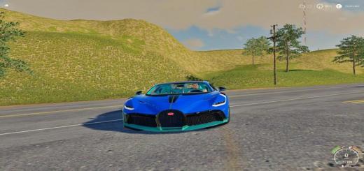 Photo of FS19 – Bugatti Divo V1
