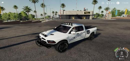 Photo of FS19 – Dodge Ram Pre Runner V1.0