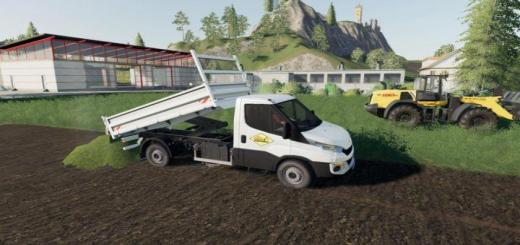 Photo of FS19 – Iveco Daily Benne V1