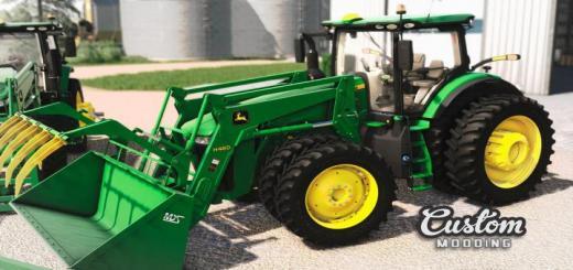 Photo of FS19 – John Deere 7R: Traktör V1.0