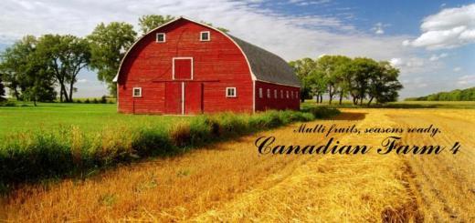 Photo of FS19 – Kanada Çiftliği Haritası V4.0