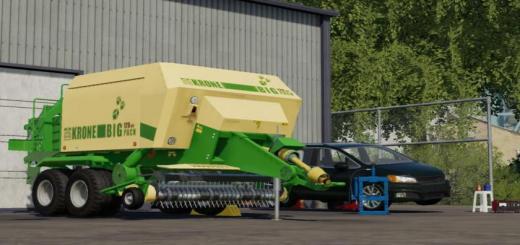 Photo of FS19 – Krone Big 120-80 Paketi V1.0