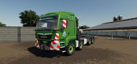 Photo of FS19 – Man Tgs Heavy Duty V1.1