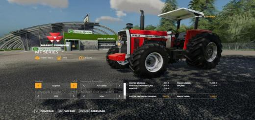 Photo of FS19 – Massey Ferguson Serisi 290 4×2 Serisi 4×4 V2.1