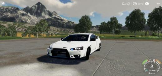 Photo of FS19 – Mitsubishi Lancer 10 V1.0