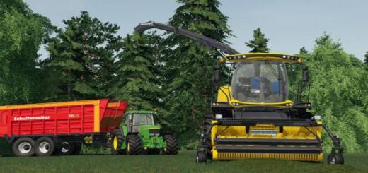 Photo of FS19 – New Holland Fr 780 V1.0.1