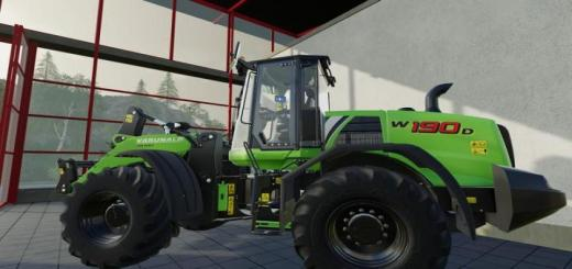 Photo of FS19 – New Holland W190D V1.0