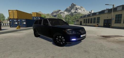 Photo of FS19 – Range Rover Vogue Siyah Araba Modu V1.0