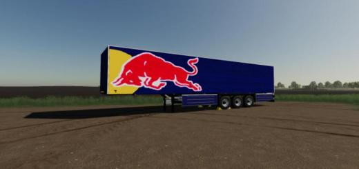 Photo of FS19 – Schmitz Cargo Red Bull V1.0