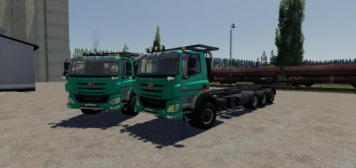 Photo of FS19 – Tatra 8X6 Euro 6 V1.0