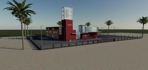 Photo of FS19 – Yerleştirilebilir Coca Cola Fabrikası V1.0