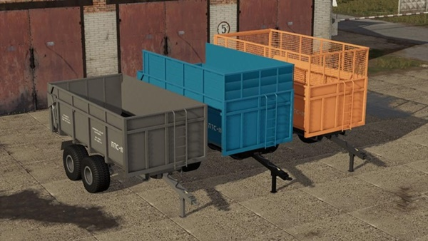 Photo of FS19 – 2PTS – 11 Sarmat Römork V1.0.0.1