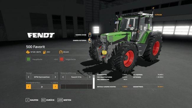 Photo of FS19 – Fendt 500 Modifiyeli Traktör