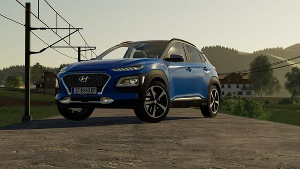 Photo of FS19 – Hyundai Kona 2018 Model Araba Modu V1.0