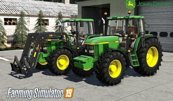 Photo of FS19 – John Deere 6610/6810/6910/6910S Traktör V2