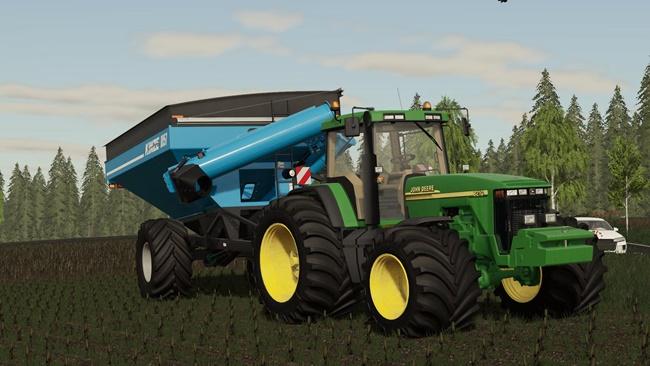 Photo of FS19 – John Deere 8000/8010 Traktör V1.0.0.3