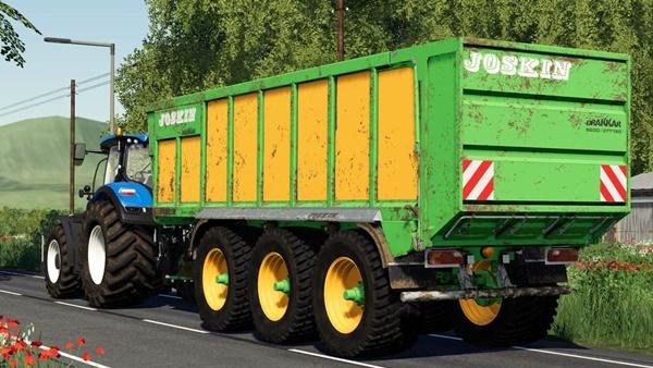 Photo of FS19 – Joskin Drakkar 8600 Römork V1.0