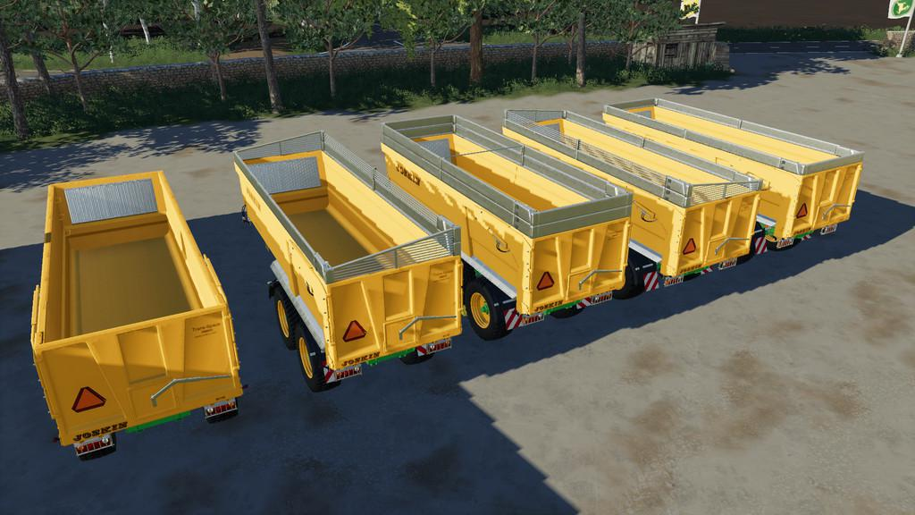 Photo of FS19 – Joskin Trans-Space 6500/22 Römork V1.0