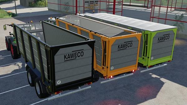 Photo of FS19 – Kaweco Pullbox 8000H Römork V1.0