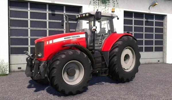 Photo of FS19 – Massey Ferguson 7400 Traktör V2