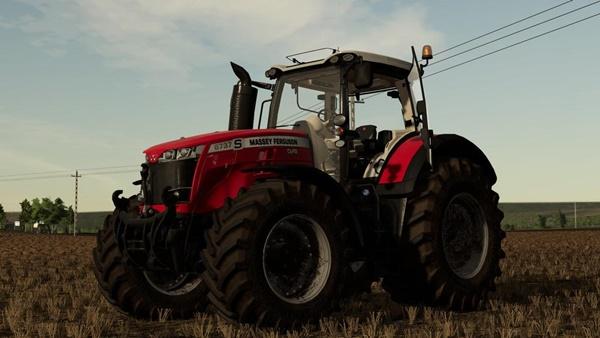 Photo of FS19 – Massey Ferguson 8700S Traktör Modu V1.0