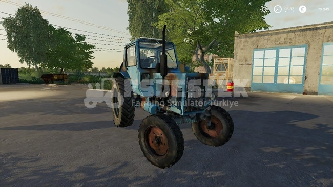 Photo of FS19 – MTZ 80 Traktör Modu V1.0