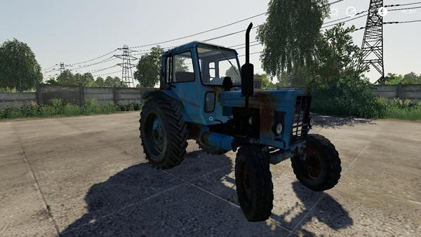 Photo of FS19 – MTZ 80 Eski Model Traktör Modu V1.0.0.1