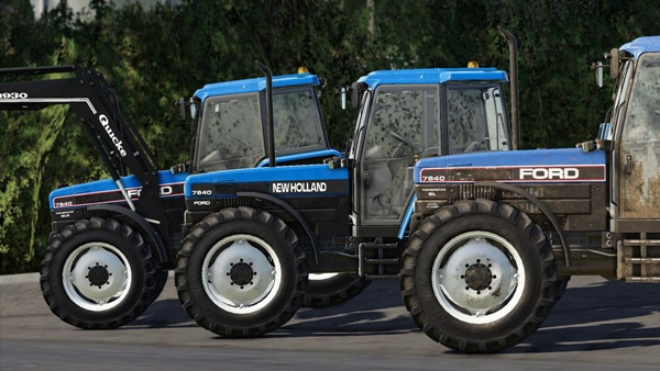 Photo of FS19 – New Holland / Ford 40 Serisi V1.0