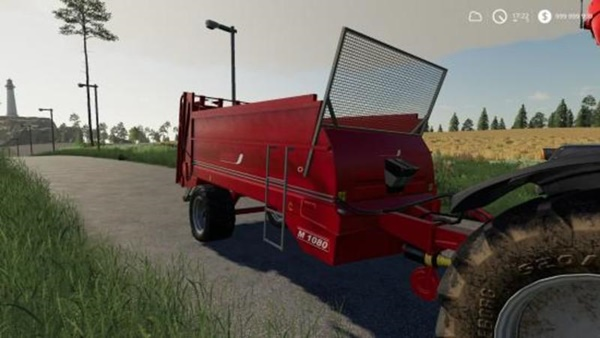 Photo of FS19 – Ombu Esparcidor M 1080 Gübre Römorku V1.0