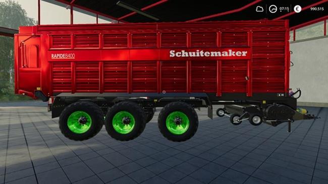 Photo of FS19 – Schuitemaker Rapide 8400 Römork V1.3
