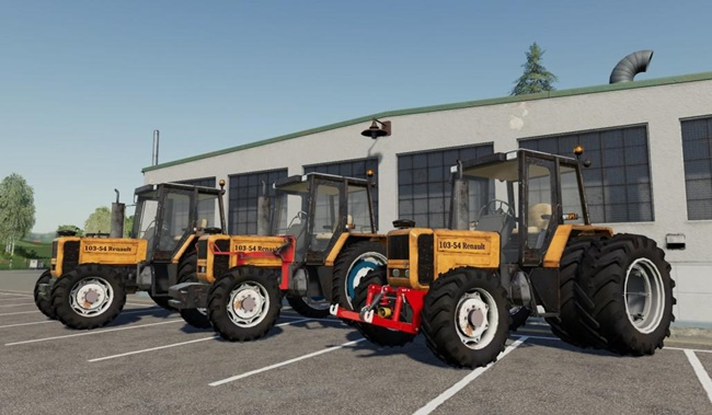 Photo of FS19 – Renault 103.54 Traktör V2.0
