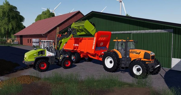 Photo of FS19 – Renault Atles 925RZ Traktör V1.0