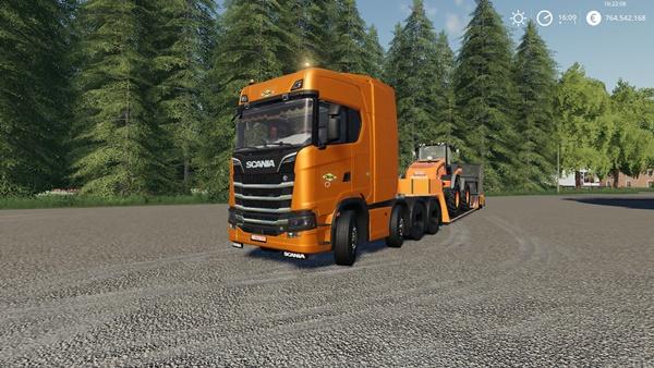 Photo of FS19 – Scania Colas Kamyon Modu V1.0