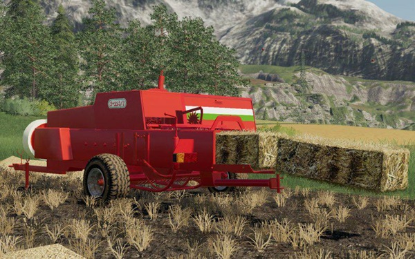 Photo of FS19 – Sipma Z224/1 Kare Balya Makinası V1.0