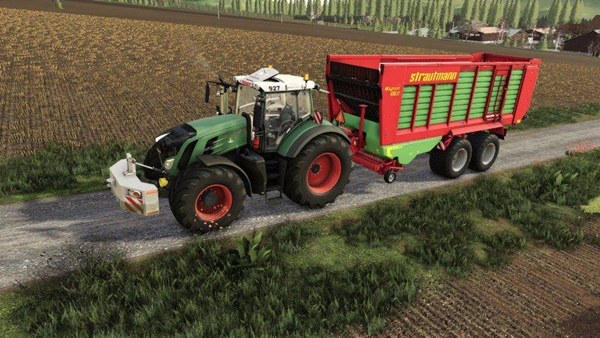 Photo of FS19 – Strautmann Magnon 430DO Yem Römorku V1.0