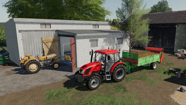 Photo of FS19 – Unia Tytan 6 Gübre Dağıtma Römorku V1.0