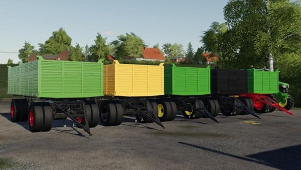 Photo of FS19 – Utva 12T Römork V1.0.0.2