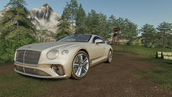 Photo of FS19 – Bentley Continental GT 2018 Model V1.0