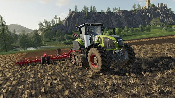 Photo of FS19 – Claas Axion 960-930 Terra Trac