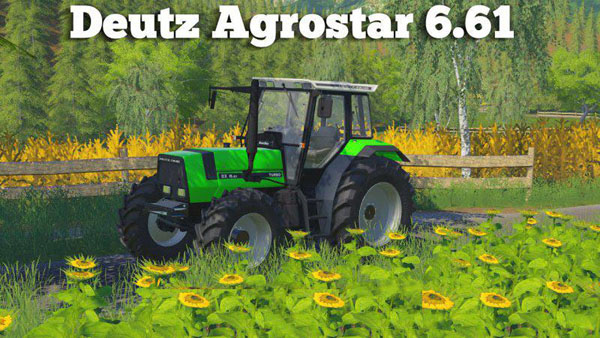 Photo of FS19 – Deutz Agrostar 6.61 Traktör