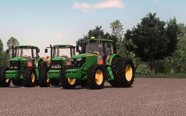 Photo of FS19 – John Deere 6J FCS Traktör V1.0