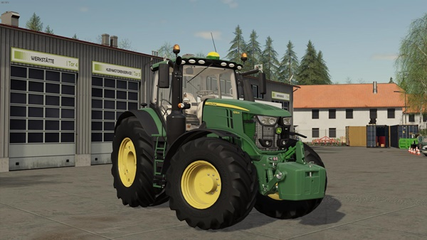 Photo of FS19 – John Deere 6R Amerikan Traktör Modu